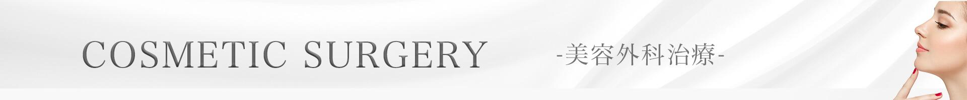 COSMETIC SURGERY -美容外科治療-